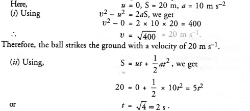 NCERT Solutions for Class 9 Science Chapter 8 Motion image - 18