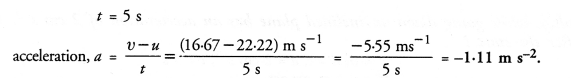 NCERT Solutions for Class 9 Science Chapter 8 Motion image - 5