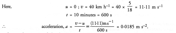 NCERT Solutions for Class 9 Science Chapter 8 Motion image - 6