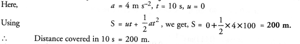 NCERT Solutions for Class 9 Science Chapter 8 Motion image - 10