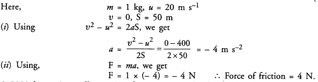 NCERT Solutions for Class 9 Science Chapter 9 Force and Laws of Motion image - 8