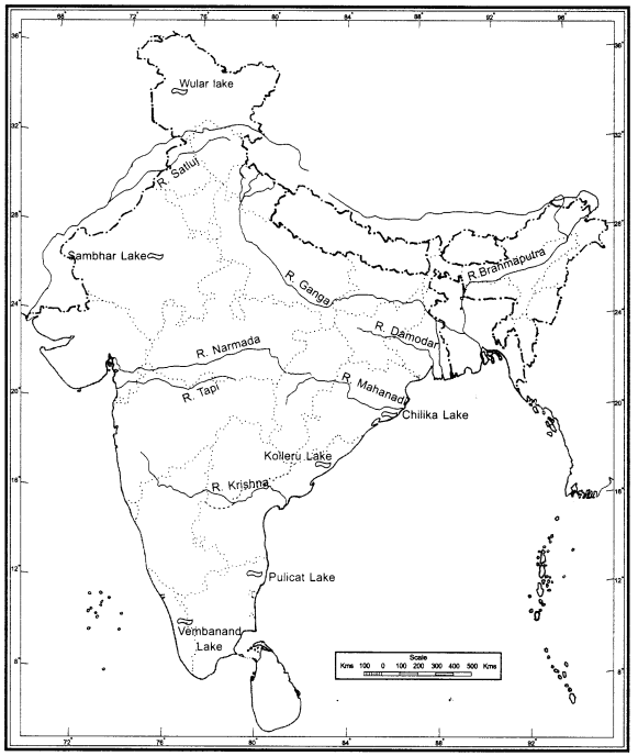 NCERT Solutions for Class 9 Social Science Geography Chapter 3 Drainage img-1