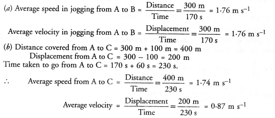 T Solutions for Class 9 Science Chapter 8 Motion image - 13